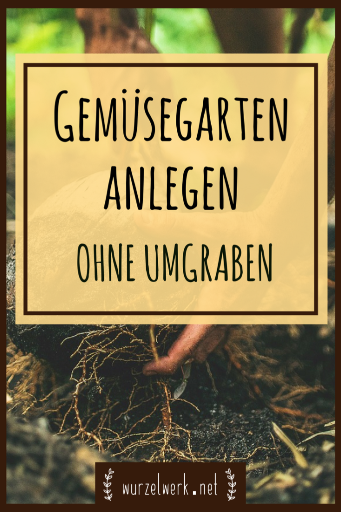 Gemüsegarten anlegen ohne Umgraben: Mit dieser einfachen Methode kannst du dir einen kleine oder große Gemüsebeete anlegen und in deinem neuen Selbstversorger Garten schon bald eigenes Gemüse anbauen.