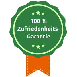 100 % Zufriedenheits-Garantie