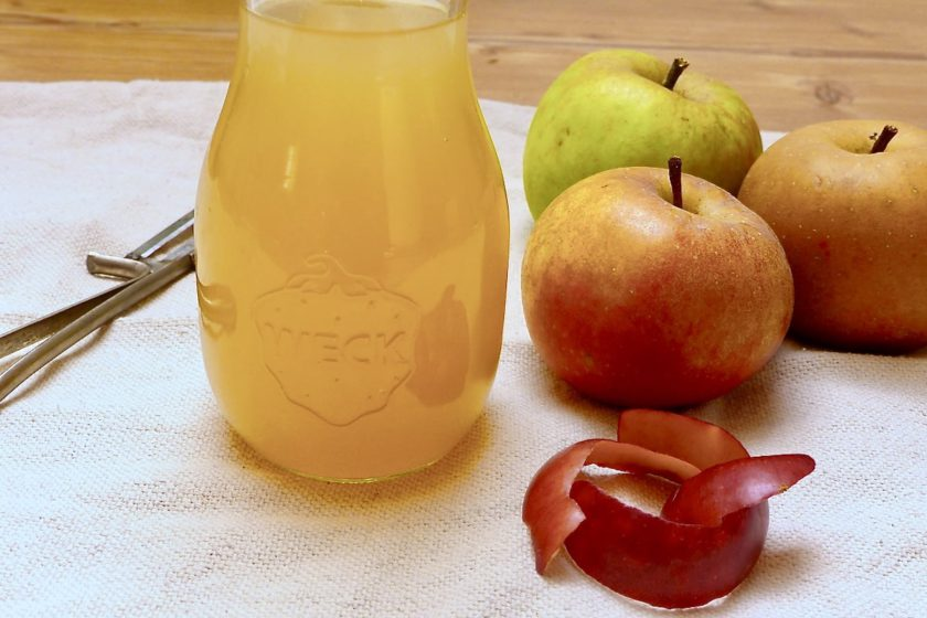 Apfelessig selber machen