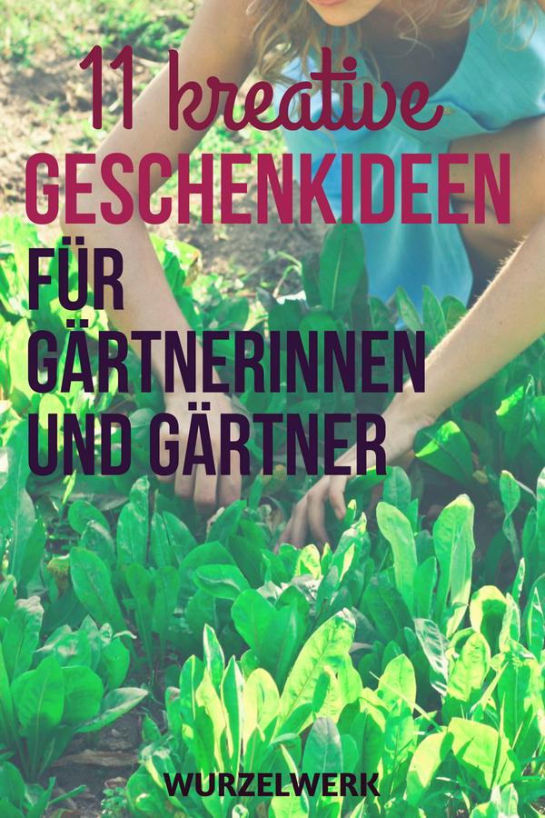 Geschenkideen für Gärtnerinnen und Gärtner: Egal, ob für Weihnachten, zum Einzug oder Geburtstag - hier sind 11 sinnvolle Geschenkideen für Garten-begeisterte Männern und Frauen, zum Basteln oder Selbermachen. #Geschenkideen #Weihnachten #Geburtstag