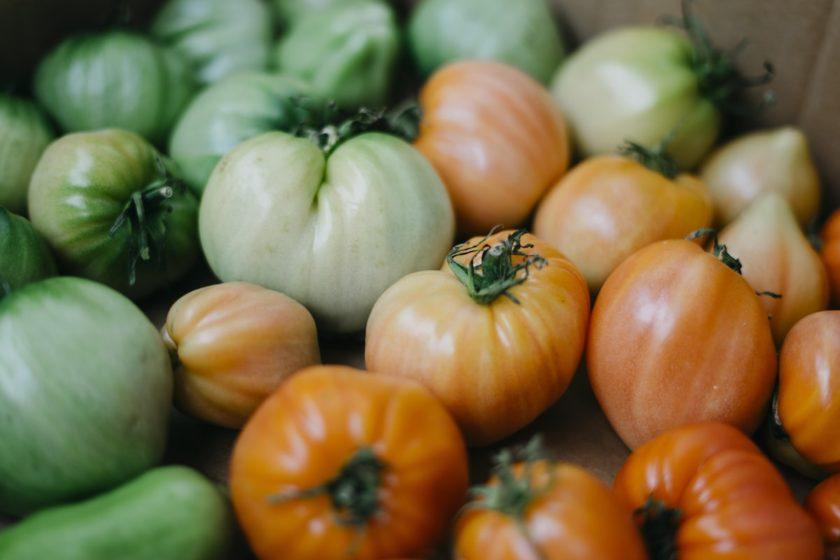 Nachreifende Tomaten