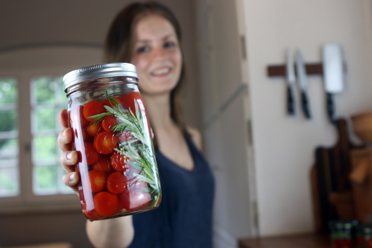 fermentierte Tomaten