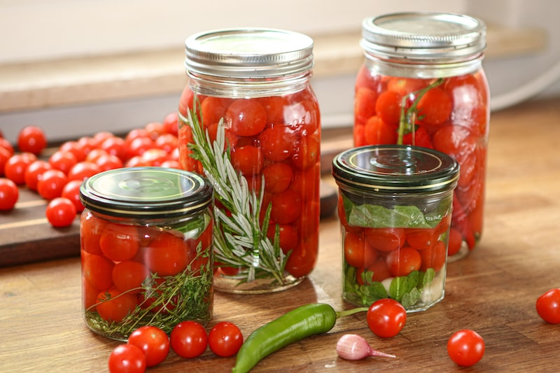 Tomaten fermentieren 1