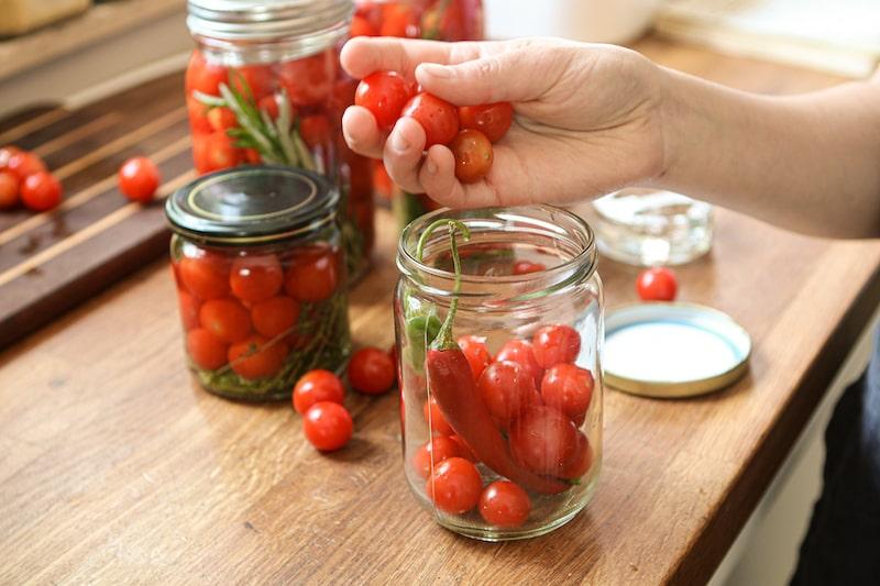 Tomaten fermentieren 4