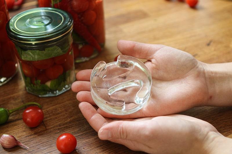 Tomaten fermentieren Gewichte