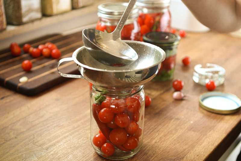 tomaten fermentieren salzlake