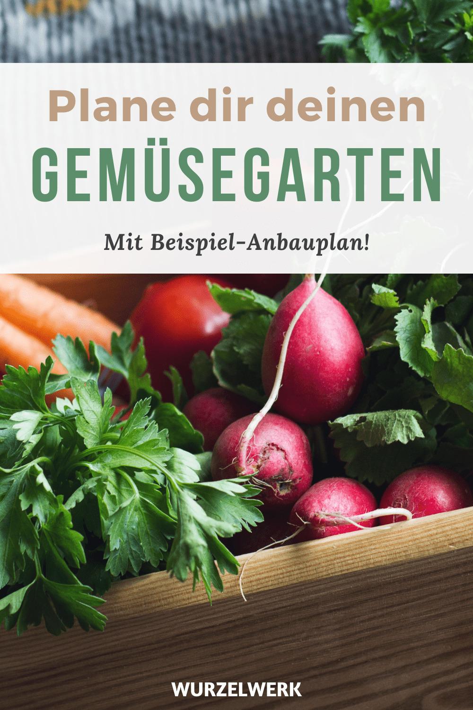 Gemüsegarten planen