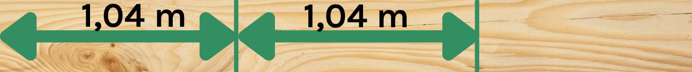 zugeschnittenes Holz