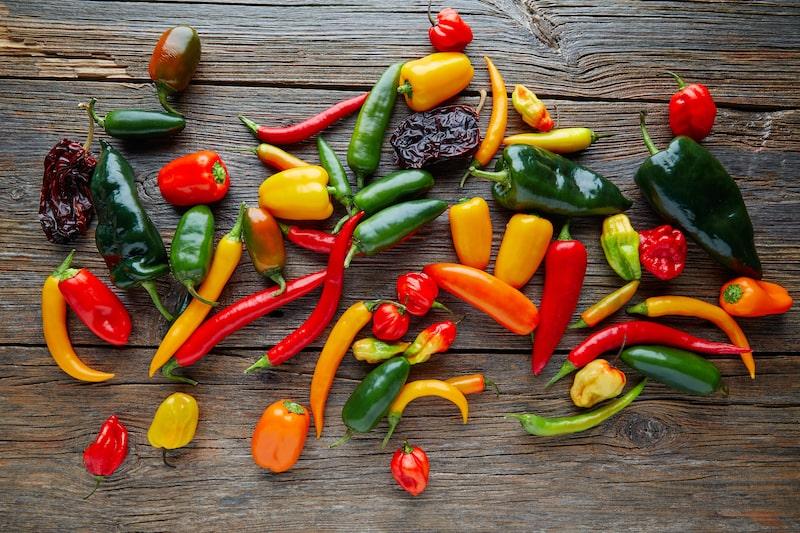 Chili Peperoni Paprika